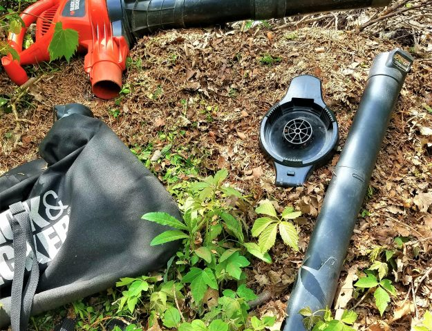 review of black and decker blower vac mulch tool