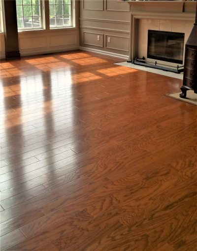 how to install a hardwood floating floor