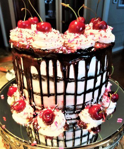 Best Valentine's Day Chocolate Cake