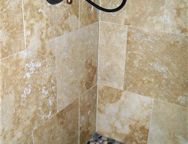 how to re-grout bathroom shower wall tile