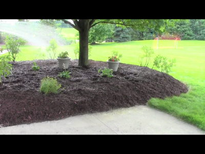 install a new mulch bed like a professional