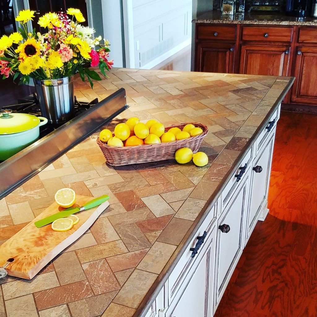 Kitchen Countertops Eugene Oregon: How To Install Tile On A Kitchen Countertop