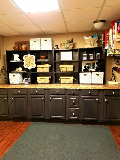 the best way to organize your sewing room