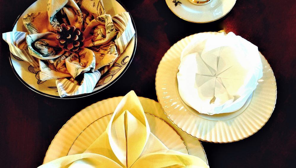 master the easy art of napkin folding