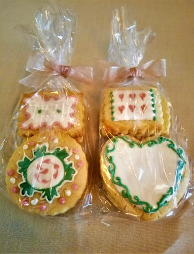 ideas and how to decorate bridal shower cookies