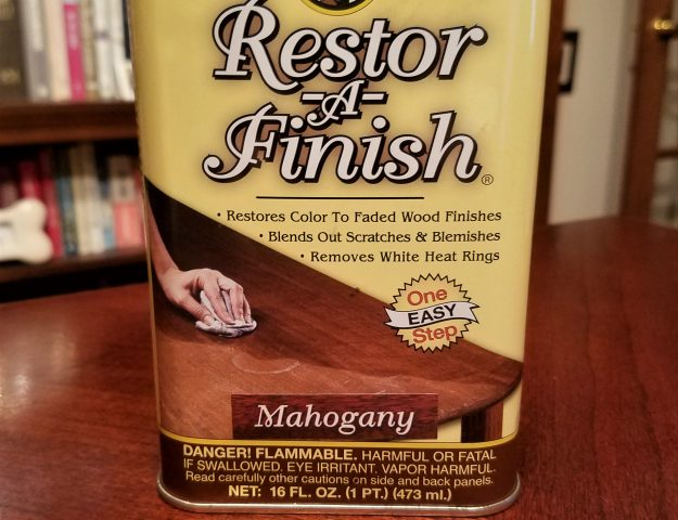 my customer review of howard restor a finish