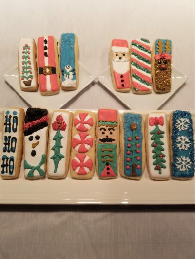 14 ways to decorate one Christmas cookie