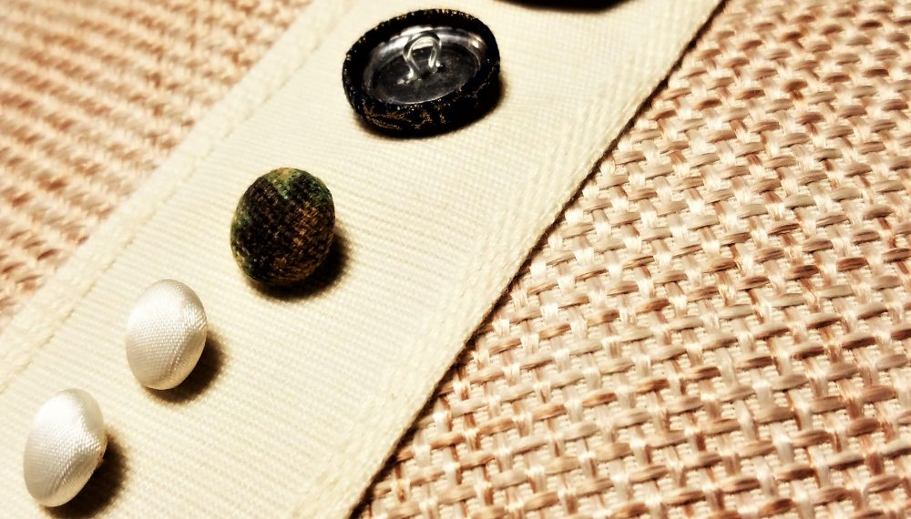 how to make fabric covered buttons