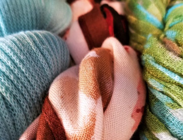 the best scarf storage and organization idea