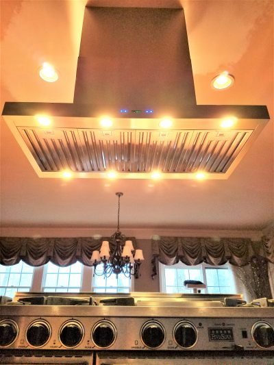 how to install a ductless range hood