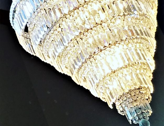 Clean a Crystal Chandelier with Sparkle Plenty