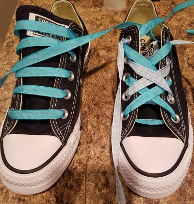 7 ways to lace shoes with diy shoelaces