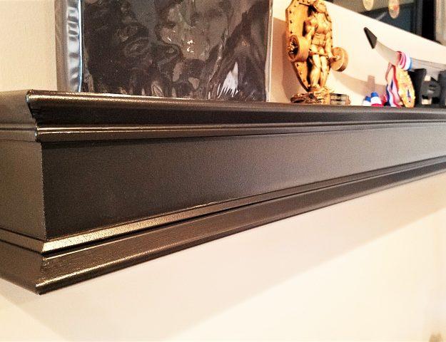 DIY Floating Shelf Bracket and Tutorial